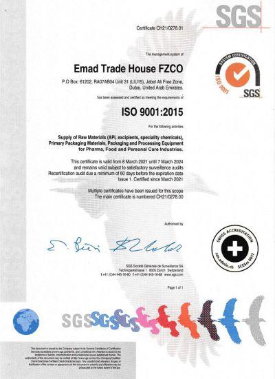 FZCO ISO